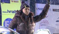 Rally Liepāja 2014 - Inessa begin like star!