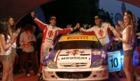 Rally Prealpi Orobiche 2013 - M. Belli at Finish...