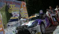 Rally del Casentino 2013 - M.Beltrami at Finish...