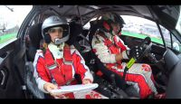 Monza Rally 2014 - Alessandro RE-Cristina De Pin (C4 WRC)