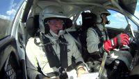 Arad Rally Atrium Mall 2014 - Onboard François Delecour