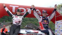 Sebastien Loeb won Rallye du Chablais 2013