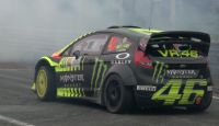 Valentino Rossi and VR46 Team - Monza Rally Show 2013