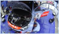 Timelaps HMI Hyundai WRC Service Rally del Taro 2015