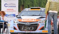 Hyundai i20 WRC - Start at Valli Cuneesi