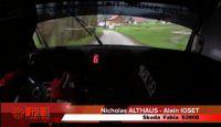 Rallye Critérium Jurassien 2013 - Onboard with Nicholas ALTHAUS