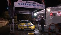 Rallye Pays Du Gier 2013 - P. Perroud at Finish...