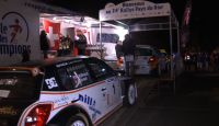 Rallye Pays Du Gier 2013 - N. Althaus at Finish...